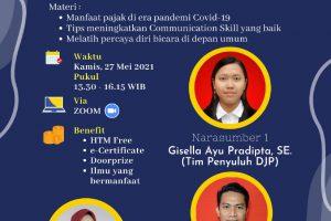 KANWIL DJP JAWA TIMUR 1 BERSAMA TAX CENTER STIE MAHARDHIKA PROUDLY PRESENT