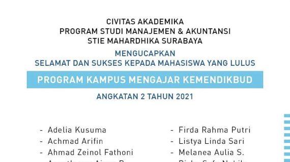 Hasil Seleksi Kampus Mengajar Angkatan 2 Tahun 2021